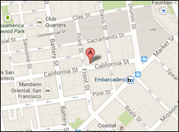 { Map of San Francisco Office }