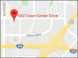 { Map of Costa Mesa Office }